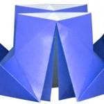 """Оригами """"Пароход"""" 1"""