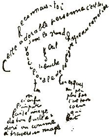 Искусство каллиграммы 1