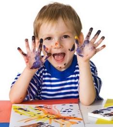 Учимся рисовать красками 1