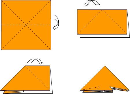 """Оригами """"Рыбка"""" 1"""