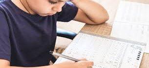 Красивый почерк у ребенка. 17