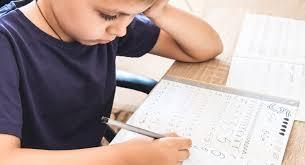 Красивый почерк у ребенка. 1